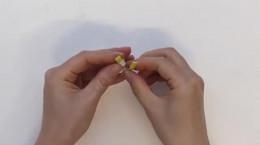 کاردستی ساده حلقه کاغذی برای کودکان