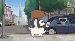 کارتون سریالی سه خرس کله پوک فصل اول قسمت هفدهم ۱۷ دوبله فارسی