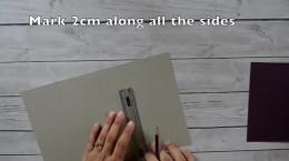 ساخت کارت پستال کاغذی برای کادو