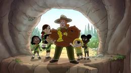 کارتون سریالی سه خرس کله پوک فصل سوم قسمت چهاردهم ۱۴ دوبله فارسی