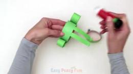 کاردستی آسان و جالب قورباغه کاغذی
