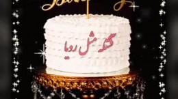 کلیپ تولدت مبارک عزیزم