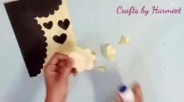 آموزش ساخت کاردستی عاشقانه کارت پستال