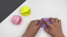 درست کردن کاردستی ساده صدف کاغذی