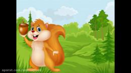 کلیپ حیوانات جنگل کودکانه