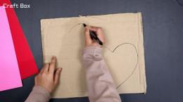 آموزش درست کردن جعبه قلبی