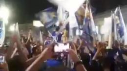 کلیپ برای برد استقلال جشن خیابانی دیشب