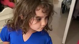 کلیپ خنده دار گندم گیلک دختر بچه بامزه ایرانی