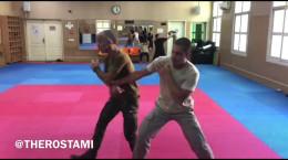 آموزش دفاع شخصی توسط پویا رستمی