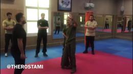 آموزش دفاعی شخصی پویا رستمی 1400