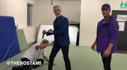 ویدیو پویا رستمی دفاع شخصی در برابر چاقو