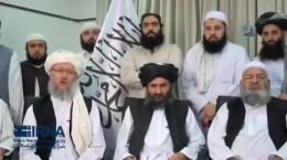 پیام تصویری سران طالبان پس از فتح کابل