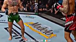 ویدیو شکستن پای مک گرگور در ufc