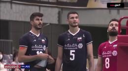 خلاصه والیبال ایران 3 - کره جنوبی 0