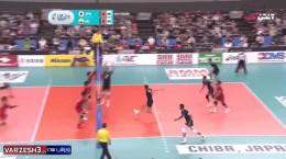 خلاصه والیبال ژاپن 0 - 3 ایران فینال قهرمانی آسیا