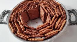 طرز تهیه ی کیک یخچالی قالبی
