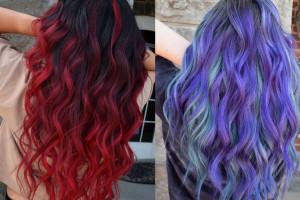 رنگ موی فانتزی : ۳۵ مدل از جدیدترین هایلایت های فانتزی ۲۰۱۹