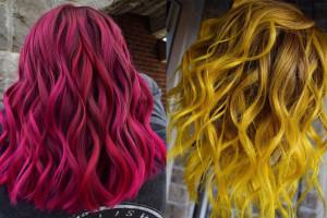رنگ موی فانتزی دخترانه | جدید و  شیک و فانتزی