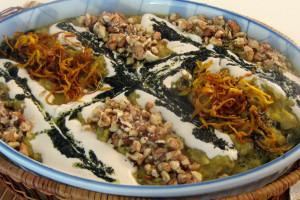 طرز تهیه ی کشک بادمجان به روش سنتی