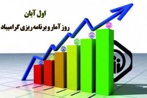 ۱ آبان ماه روز ملی آمار و برنامه ریزی
