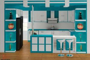 جدیدترین اپن آشپزخانه ام دی اف 2018 با طرح های بسیار زیبا سری (2)