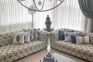 طراحی سالن پذیرایی منزل 2018 سری 4 سبک خانه های مدرن
