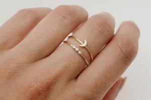 انگشتر دخترانه زیبا ۹۸ در انواع طرح های شیک و جذاب