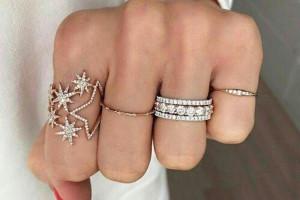 مدل انگشتر دخترانه جدید ۹۸ شیک و جذاب در طرح های متفاوت