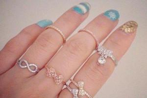 انواع مدل انگشتر دخترانه ۹۸ شیک و مدرن برای خانم های لاکچری