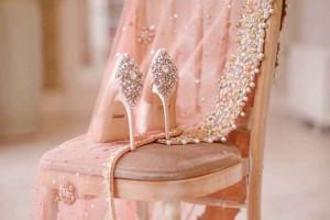 مدل کفش عروس جدید و شیک برای لاکچری پوشان + تصاویر