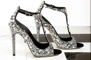 انواع مدل کفش عروس جدید و شیک به سلیقه عروس سال + تصاویر