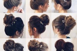 ۵۰ مدل موی جمع دخترانه مجلسی با جدیدترین و جذابترین طرحهای ۲۰۱۹