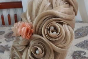 عکس مدل شینیون مو باز ۲۰۱۹ زیبا مخصوص خانم های سخت پسند