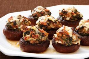 طرز تهیه ی قارچ شکم پر کبابی با روشی جدید و آسان