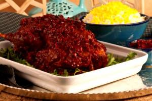 آموزش طرز تهیه ی لونگی مرغ غذای سنتی آستارا