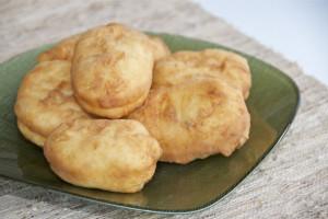 روشی آسان برای تهیه نان روسی سیب زمینی و بادمجان