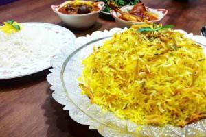 شکر پلو   آموزش پخت شکر پلو شیرازی مرحله به مرحله