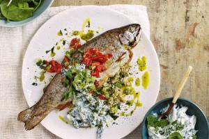۲ روش ساده جهت تهیه حشو ماهی شکمپر جنوبی