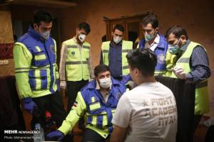 تصاویر قرنطینه دانشجویان ایرانی برگشته از چین