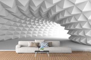 کاغذ دیواری پذیرایی لاکچری + عکس + قیمت