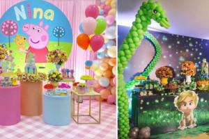 ۵۹ عکس تم تولد کودک مخصوص ایده برای جشن تولد