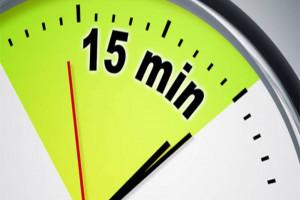 قانون 15 دقیقه و نحوه کاربرد آن