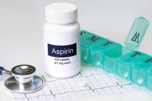 آسپرین دارویی تایید شده برای کنترل سکته قلبی