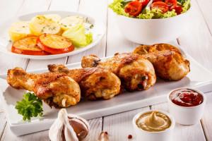 طرز تهیه انواع غذا با ران مرغ خوشمزه و لذیذ