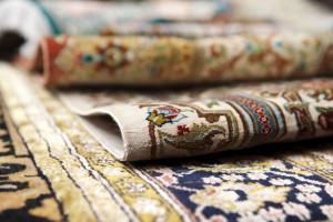 بررسی نقش و طرح فرش مشهد