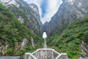 دروازه بهشت چین + معرفی ۲ گذرگاه خطرناک دنیا