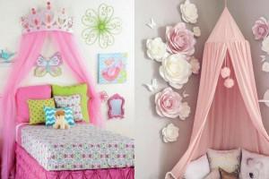 مدلهای دکوراسیون اتاق خواب دختر جدید و شیک با هزینه مناسب