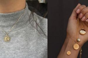 مدل گردن بند دخترانه و زنانه شیک و جذاب با استایل های خاص