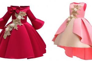 لباس مجلسی دخترانه ۲۰۲۰ بچه گانه در انواع طرح های زیبا و چشم نواز