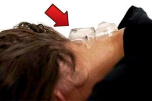 فواید باور نکردنی قرار دادن یخ پشت گردن (Feng FU)